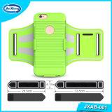 Erstklassige Armbinde für iPhone 6/6s/5 für Samsung-Galaxie S7/S6/S5. Laufender Arm-Band-Pistolenhalfter-Telefon-Kasten für Seitentriebe, Eignung, Sport