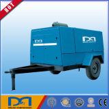 Compresseur à air à vis rotatif à moteur diesel portatif pour l'extraction minière fabriqué en Chine