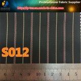 Prodotto intessuto banda rapida del taffettà del poliestere delle merci per il rivestimento del vestito degli uomini (S12.16)
