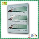주문을 받아서 만들어진 자동 접착 서류상 스티커 또는 레이블 또는 Barcode