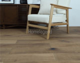 Plancher en bois conçu par chêne lavé brun clair de souillure de Retrostyle/parqueter de /Mutilayer plancher de bois dur