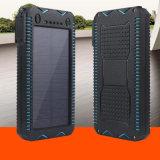 Batería de múltiples funciones de la energía solar con el cargador solar del alumbrador 10000mAh del cigarrillo
