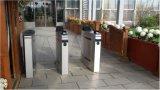 Sistema de atendimento ao tempo de impressão digital Barreira de aleta com acesso a cartão RFID