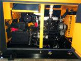 Geradores Diesel da energia eléctrica do dossel silencioso do bom desempenho 30kVA 24kw do motor de Y410d com AVR
