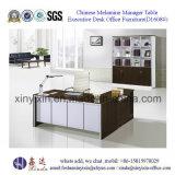 L 모양 관리 사무소 책상 중국 나무로 되는 사무용 가구 (D1608#)