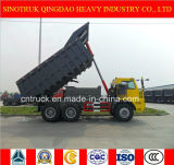 Sinotruk HOWO 상표 쓰레기꾼 트럭과 덤프 트럭을 채광하는 70 톤