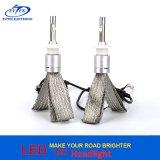 자동 Headlamp를 위한 고성능 LED 헤드라이트 40W 4800lm 크리 사람 칩 Xhp50 H7 LED 헤드라이트