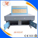 De viervoudige Scherpe Machine van de Laser van Hoofden voor Geweven Etiket (JM-1610-4T)