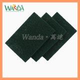 Pratos fortes da almofada do purificador da almofada do Scour do verde da limpeza que lavam a almofada