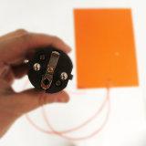 Chaufferette anti-déflagrante flexible en caoutchouc de silicones de l'adhésif 110V 230V