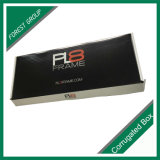 Negro Laminación brillante caja de cartón de embalaje