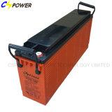 Batería casera solar del gel de las baterías de almacenaje 12V 100ah frecuencia intermedia con el frente