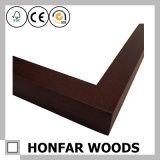 Cornice di legno nera moderna che modella per la decorazione della locanda