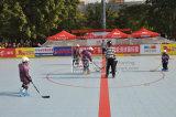 Einfache Reinigung kein anhaftender Plastikfußboden für Eis-Eisbahn/Hockey-Eisbahn