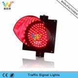 Sinal vermelho de 200 milímetros de alta qualidade Mini semáforo LED
