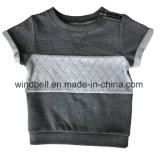 Обыкновенный толком короткий пуловер тельняшки ватки втулки для малышей