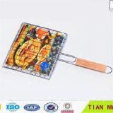 Сплетенная нержавеющей сталью сетка волнистой проволки Mesh/BBQ