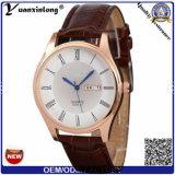 Yxl-509 verdoppeln Zeit-Form-Uhr-/Uhrenarmband-Kalender/Luxuxuhr-Marken