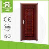 Entrada principal con puertas exteriores de la huella digital cerradura de puerta