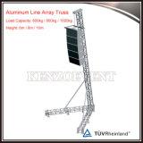 Línea de aluminio popular braguero del altavoz del arsenal