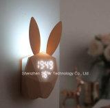 Alarmuhr des Häschen-LED Digital mit fehlerfreier Fühler-Steuerung