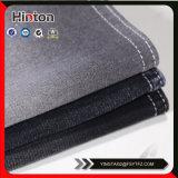 Черная ткань джинсовой ткани пальто Lycra цвета