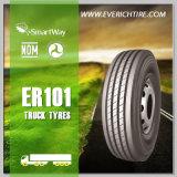 calidad de los neumáticos radiales del carro 315/80r22.5 la mejor y neumático chino del fango de los neumáticos de los neumáticos baratos TBR del acoplado