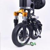 Vélo électrique de scooter de pliage facile confortable d'équitation