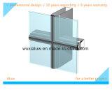 Mur rideau en verre à support de cadre