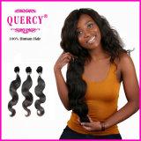Волосы 100% оптовых человеческих волос девственницы объемной волны Unprocessed бразильские