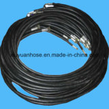 tubo flessibile idraulico ad alta pressione flessibile del tubo dell'olio 602-3b