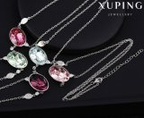 43230 Fashion Big Oval-Shaped Cristaux De Swarovski Bijoux Zircon Collier