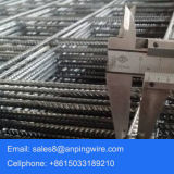 Rete metallica saldata rinforzante concreta