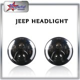 "linterna de 12V-24V 50W Jk LED para el jeep Wranger, "" linterna lateral del halo 7 para el jeep, luz de conducción redonda de 7 pulgadas LED para el Wrangler Tj/Cj/Jk/Fj del jeep"