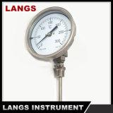 """023 4 """"産業バイメタルの管の温度計"""