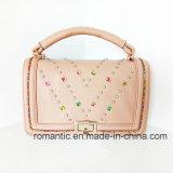 De hete het Verkopen Manier van de Handtassen van de Nagel van Vrouwen Pu Dame Satchel Bag (LY05087)