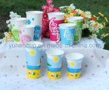 12/16oz venden al por mayor las tazas de encargo/las tazas de papel (YHC-082) del Milkshake