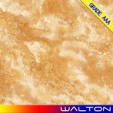 Glasig-glänzende Fliese Porzellan des Baumaterial-Marmors Bodenbelag