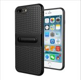 iPhone 6plus 7の7plus耐震性移動式裏表紙のシェルの保護装置のための1 Kickktandに付き新しいArriva Verusの旅行者の電話箱のiPhone 6s 2 (XSEH-042)