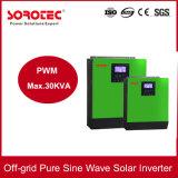 5kVA het Systeem van de 4000W Zonne-energie van Omschakelaar van de ZonneMacht van het Net de Hybride voor het Systeem van het Zonnepaneel