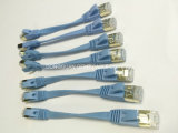 Cable plano de la corrección del LAN de la red del cable de Ethernet del gato 6A Cat7 del precio de fábrica Cat5 Cat5e CAT6 SFTP con RJ45