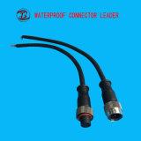 中国の製造者IP68男女の2つのPinの防水コネクターLEDライト