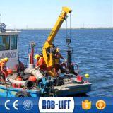 Выдвигать кран Sq6.3SA2t шлюпочной палуба баржи заграждения