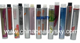 Kosmetik-verpackenhaar-Farbton-Sahne-leeres zusammenklappbares Aluminiumgefäß