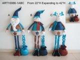 Presente de expansão do Natal com cumprimento +Giftbag -3asst
