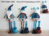 Regalo derecho de extensión de la Navidad con el saludo +Giftbag -3asst
