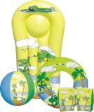 Mini prancha inflável para crianças