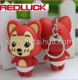 Dimensión de una variable animal al por mayor LED Keychain con THK-007