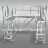 Échafaudage en aluminium certifié par ce bon marché pour la décoration