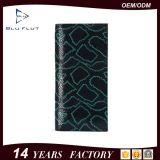 Carpeta importada manera del cuero genuino de la carpeta de los hombres del cuero del zurriago